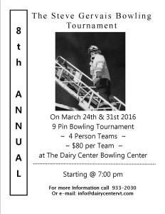 2016 SGM tournament poster