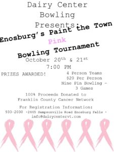 Breast Cancer Bowling Tournament 2016